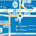 Plan d'accès CEP