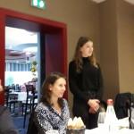 Notre student exchange Céline KAPPE